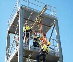Trabalho e Altura para Manutenção Industrial